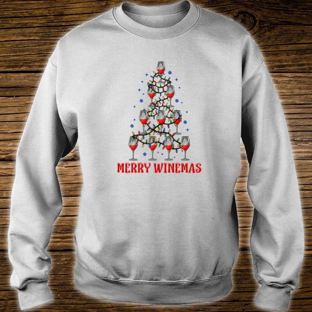 Merry Winemas Ugly Christmas Shirt sweater