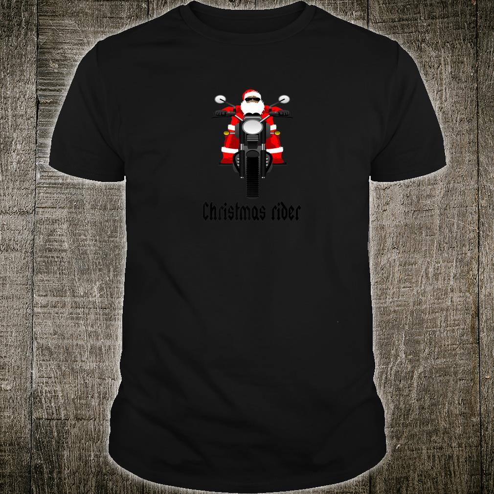 Motorcycle Fan Christmas Quote Shirt