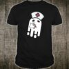 Nurse Ghost Halloween Costume Shirt