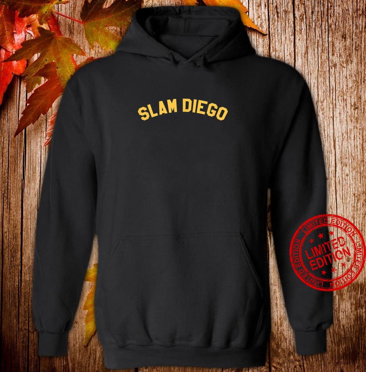 OFFICIAL SLAM DIEGO Curved T EXCLUSIVE LIMITED EDITION Shirt hoodie
