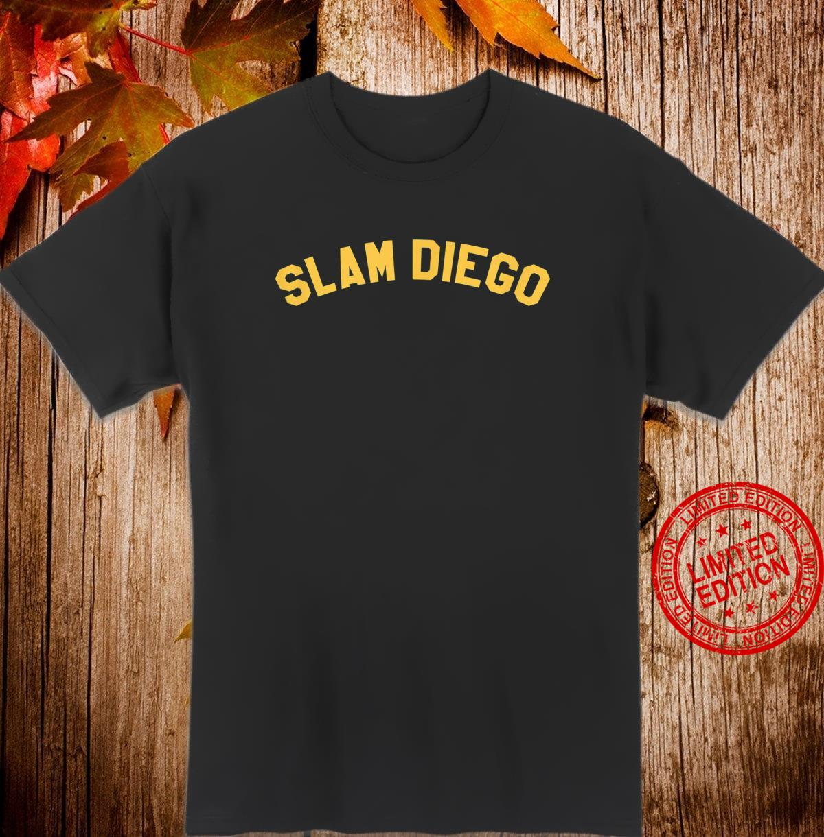 OFFICIAL SLAM DIEGO Curved T EXCLUSIVE LIMITED EDITION Shirt