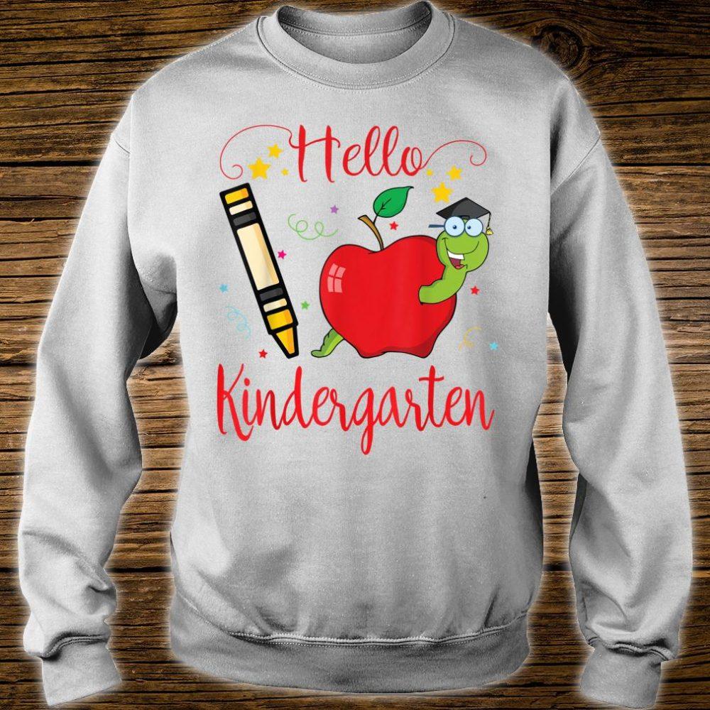 Star Crayon Pug Hello Kindergarten Happy 100th Day Of School Shirt sweater