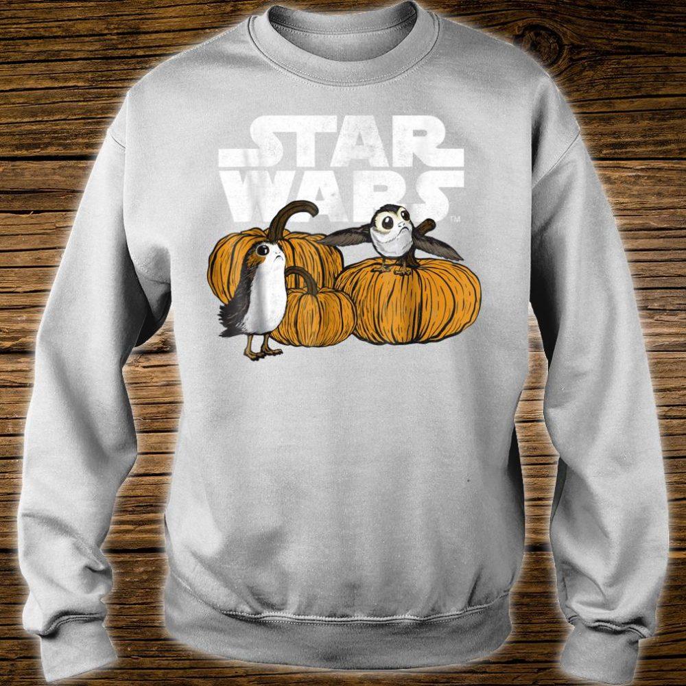 Star Wars Porg Pumpkin Patch Halloween Shirt sweater