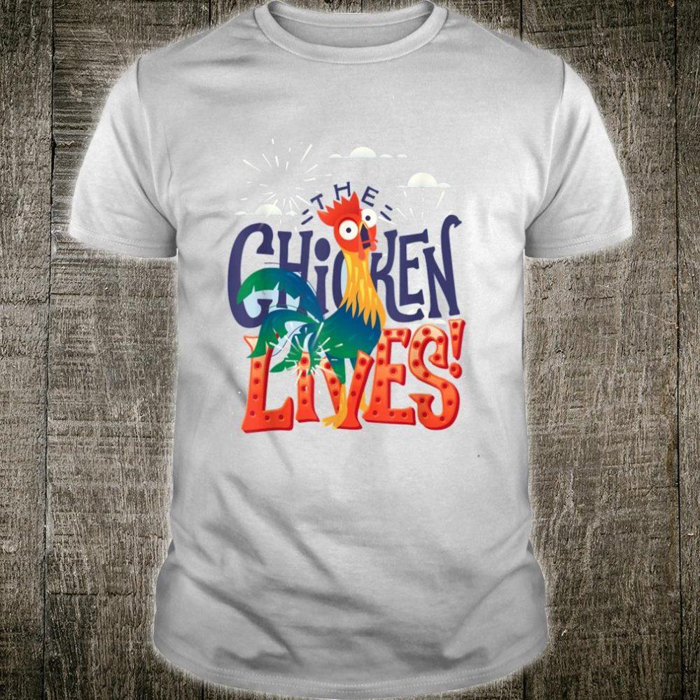The Chicken Lives Shirt
