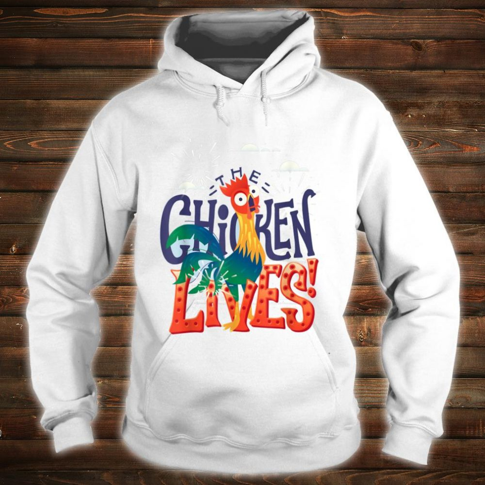 The Chicken Lives Shirt hoodie