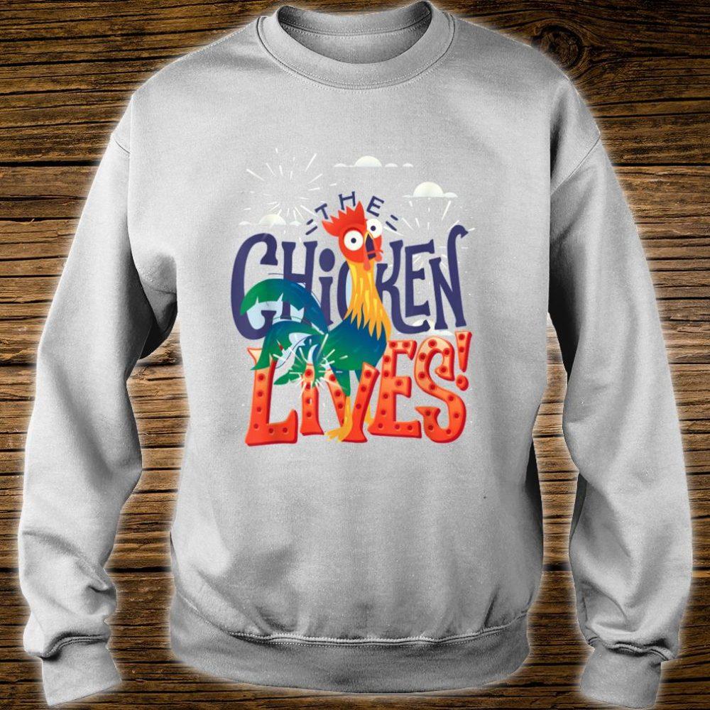 The Chicken Lives Shirt sweater