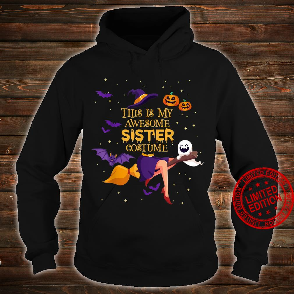 This Is My Awesome Sister Costume Halloween Shirt hoodie