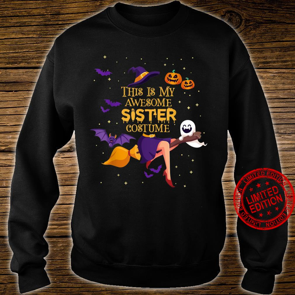 This Is My Awesome Sister Costume Halloween Shirt sweater