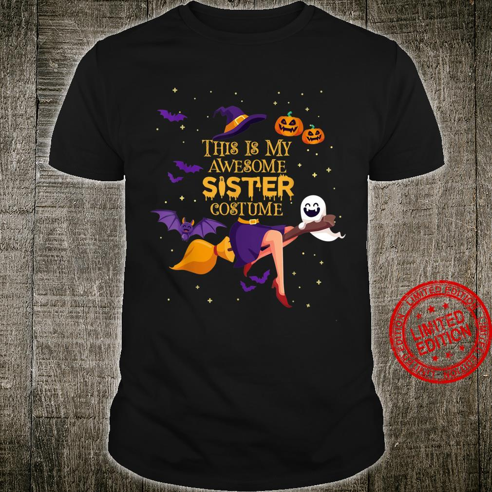 This Is My Awesome Sister Costume Halloween Shirt