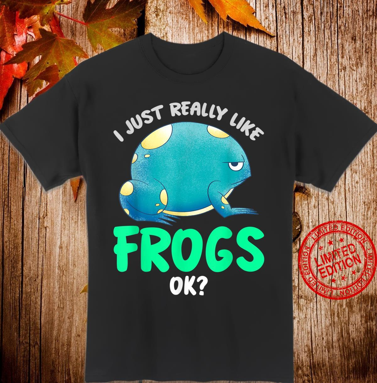 Toad Animal Amphibian Frog Shirt