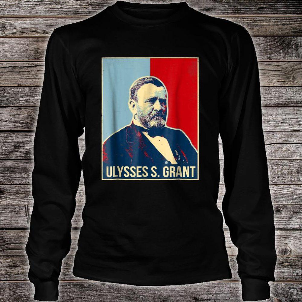 Ulysses S. Grant President Shirt long sleeved