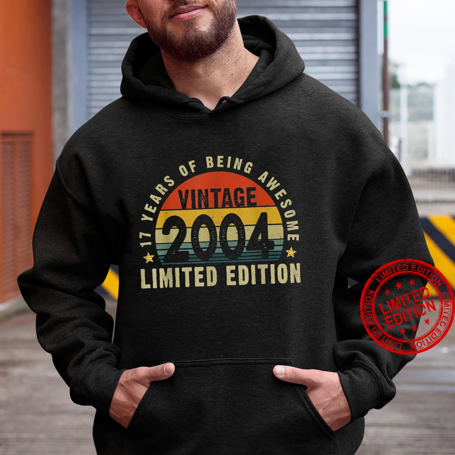 Vintage 2004 17th Bday Limited Edition 17 Years Old Shirt hoodie