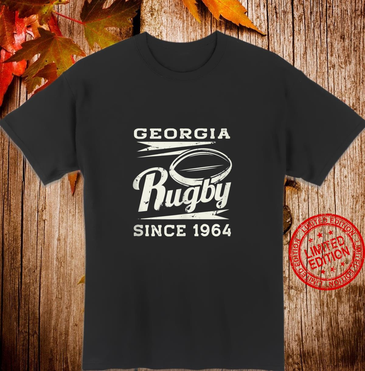 Vintage Georgia Rugby Since 1964 Shirt