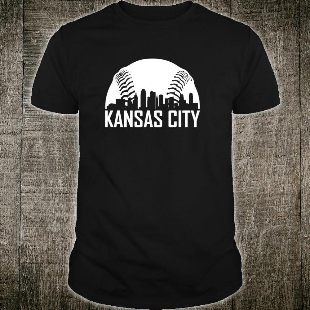 Vintage Kansas City Baseball Missouri KC Royal Blue Shirt