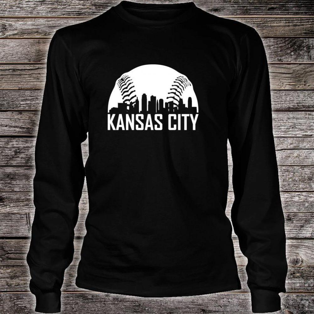 Vintage Kansas City Baseball Missouri KC Royal Blue Shirt long sleeved