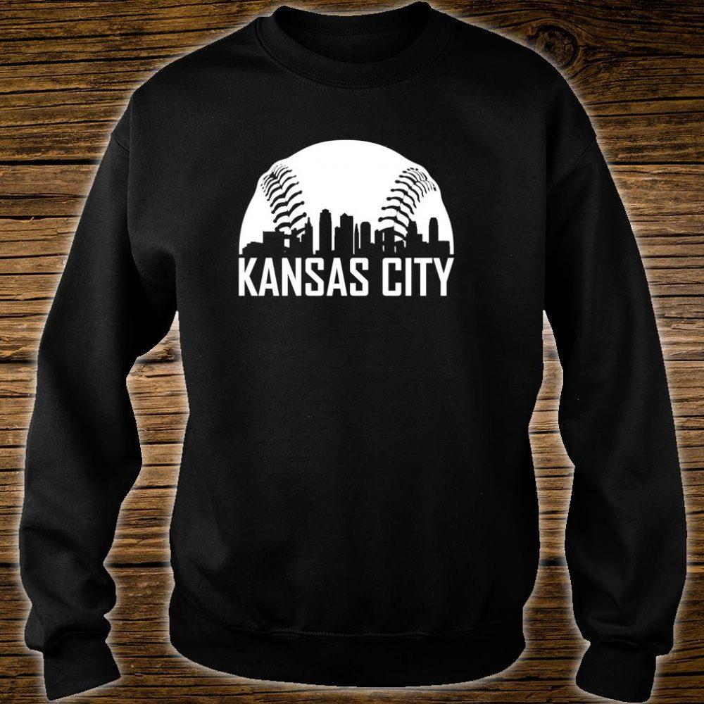 Vintage Kansas City Baseball Missouri KC Royal Blue Shirt sweater