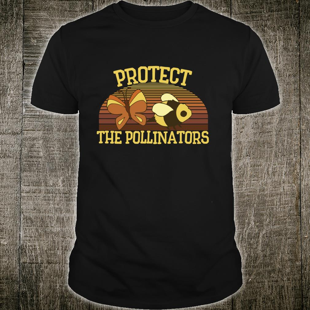 Vintage Protect the pollinators permaculture beekeepers Shirt