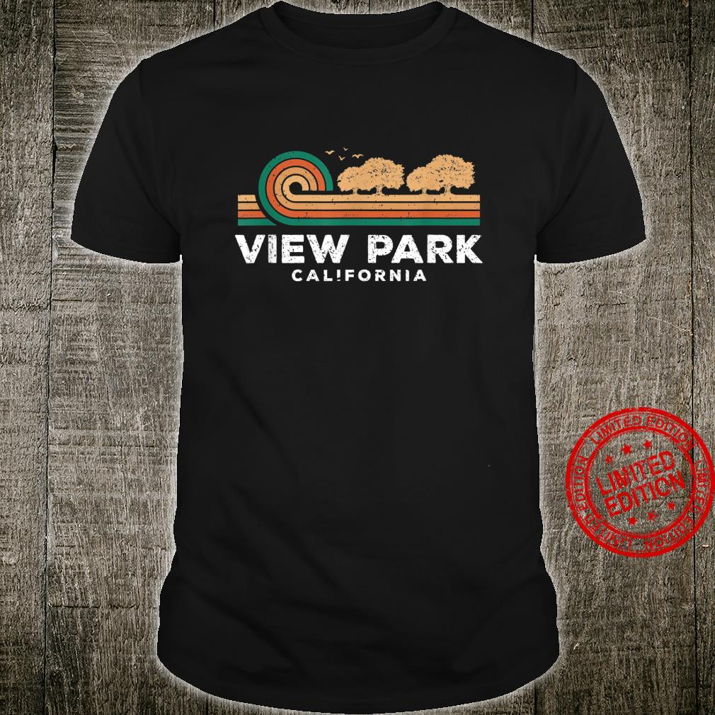 Vintage View Park Sunset California Souvenir Shirt