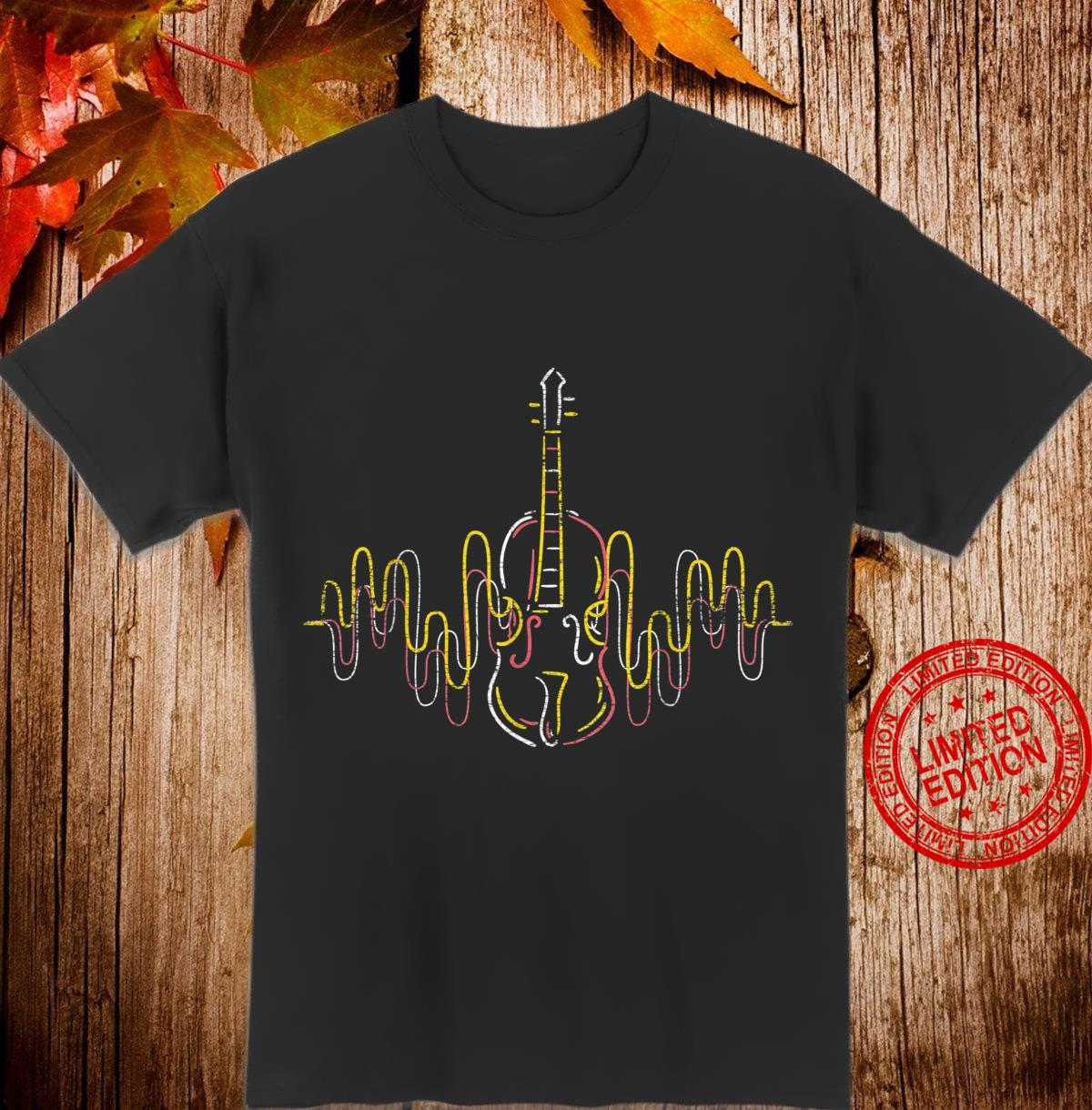 Violinist Heartbeat Musician Violin Shirt