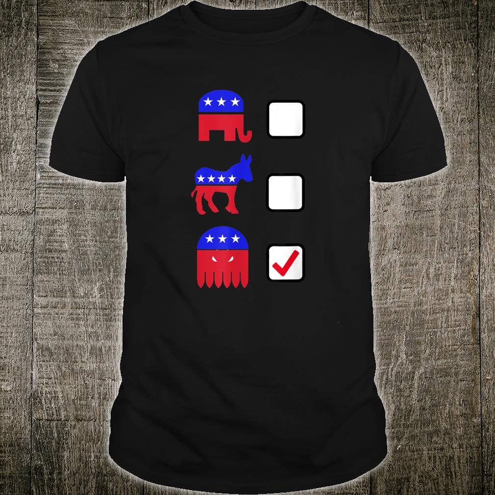 Vote Cthulhu 2016 Why Vote for a Lesser Evil Shirt