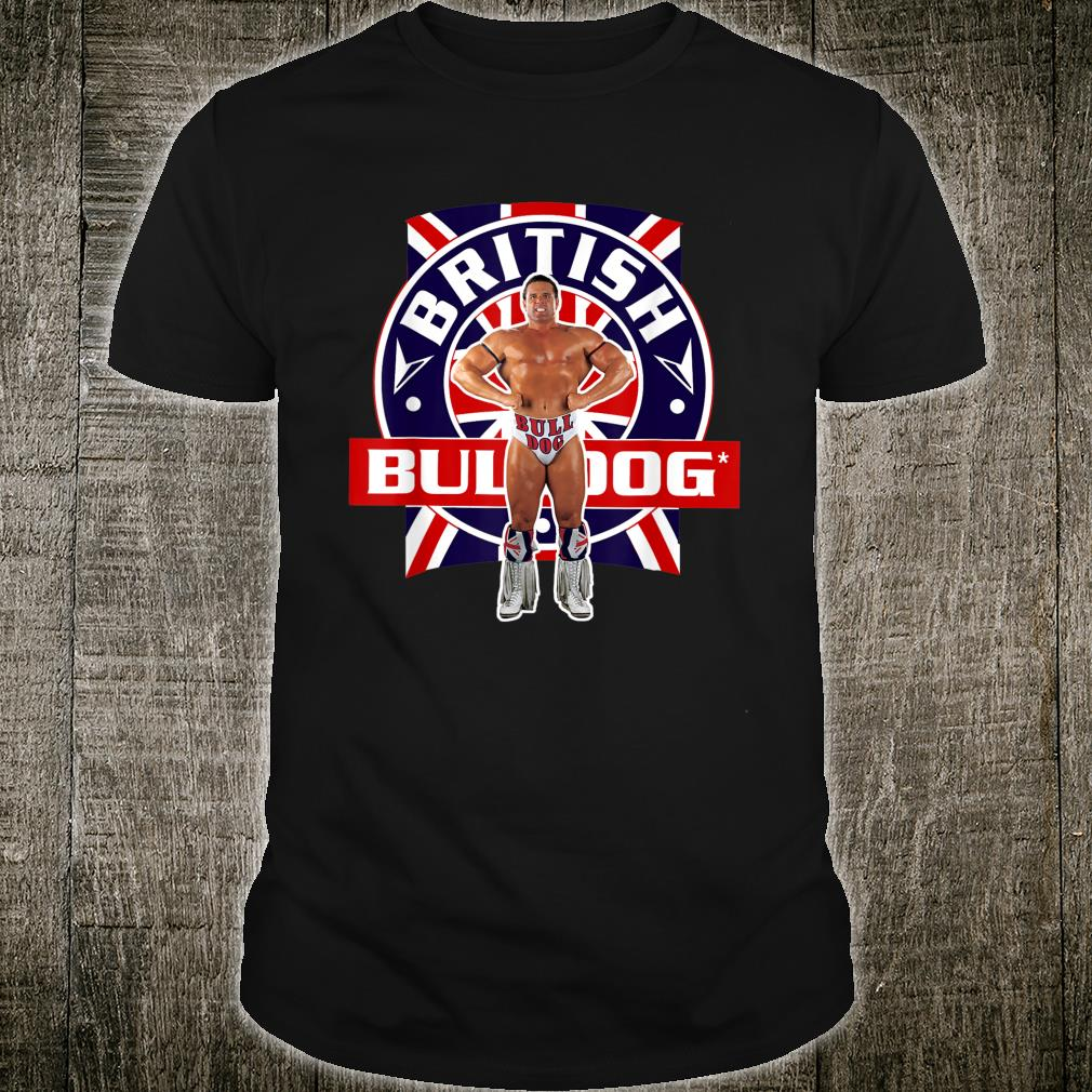 WWE British Bulldog Flexed Shirt