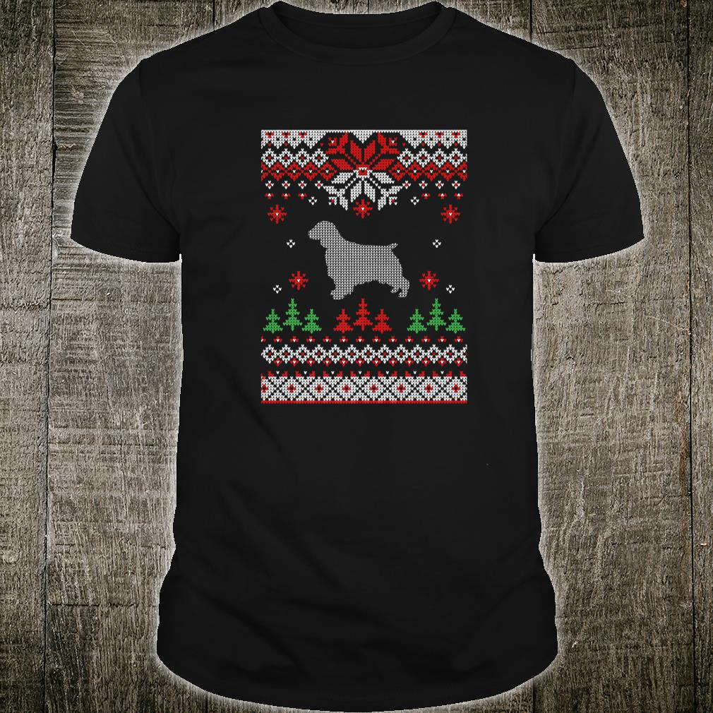 Welsh Springer Spaniel Dog Ugly Christmas Shirt