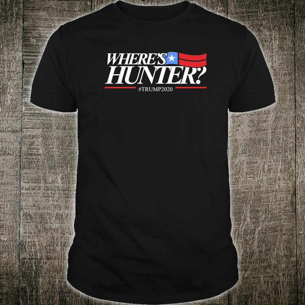 Where's Hunter Only In America Shirt