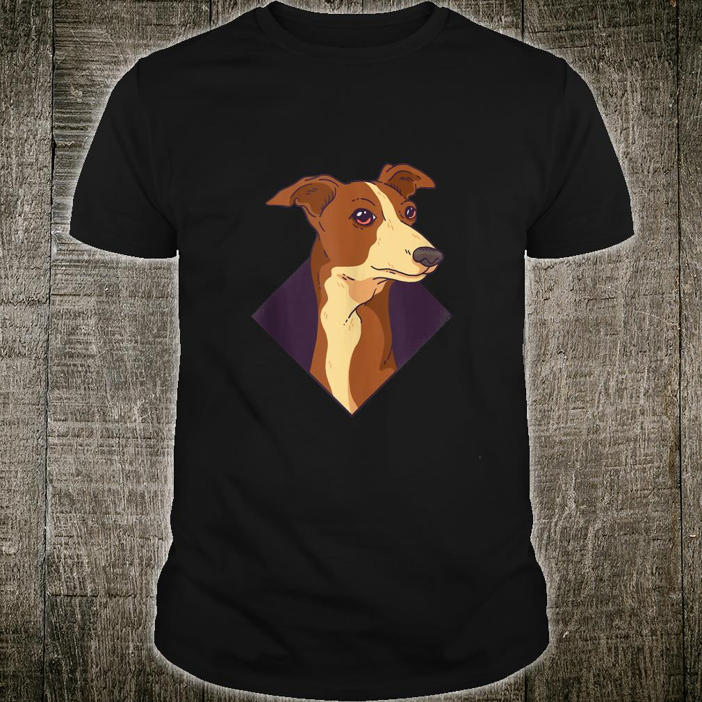 Whippet Anatomy Of A Whippet Dogs Shirt