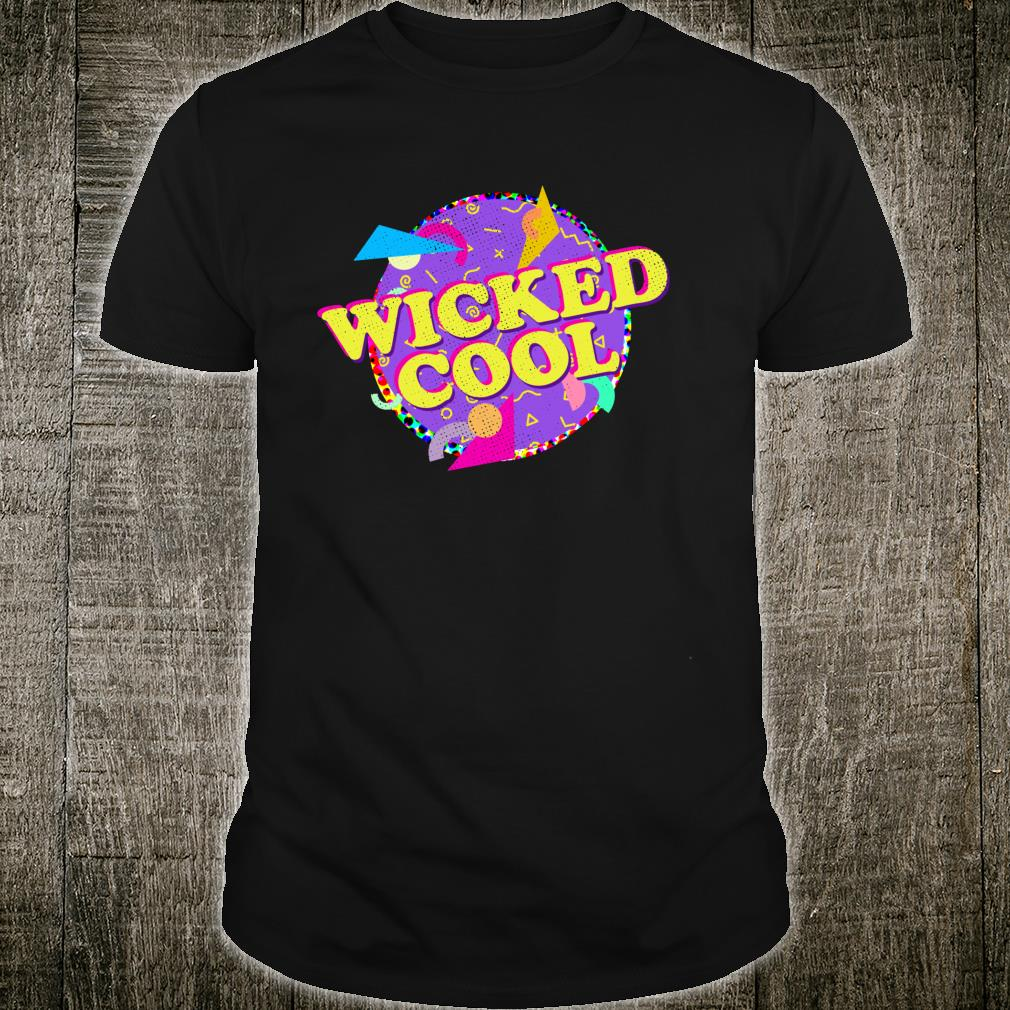 Wicked Cool Throwback Retro Style Shirt