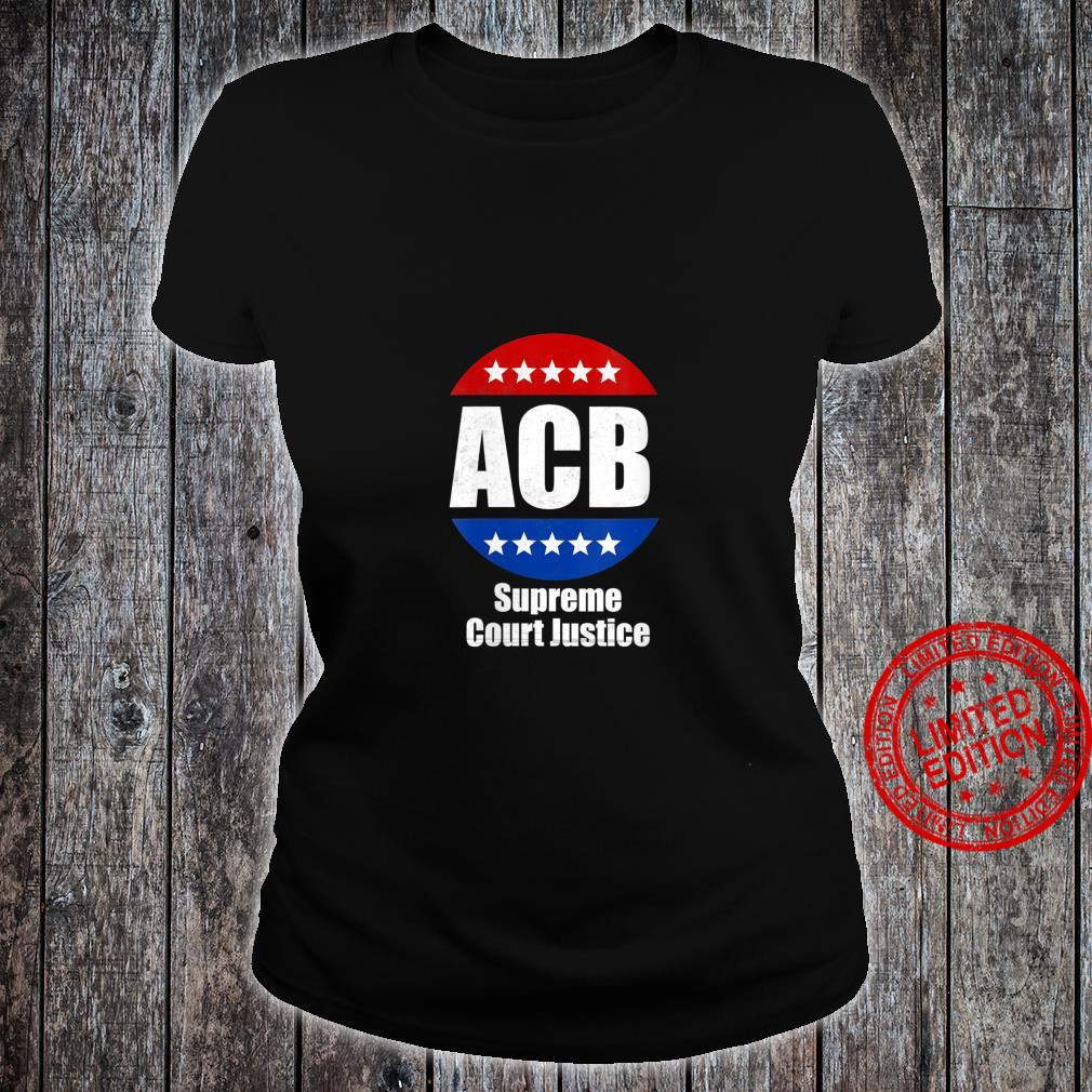 Womens Amy Coney Barrett for U.S Supreme Court Justice 2020 Shirt ladies tee