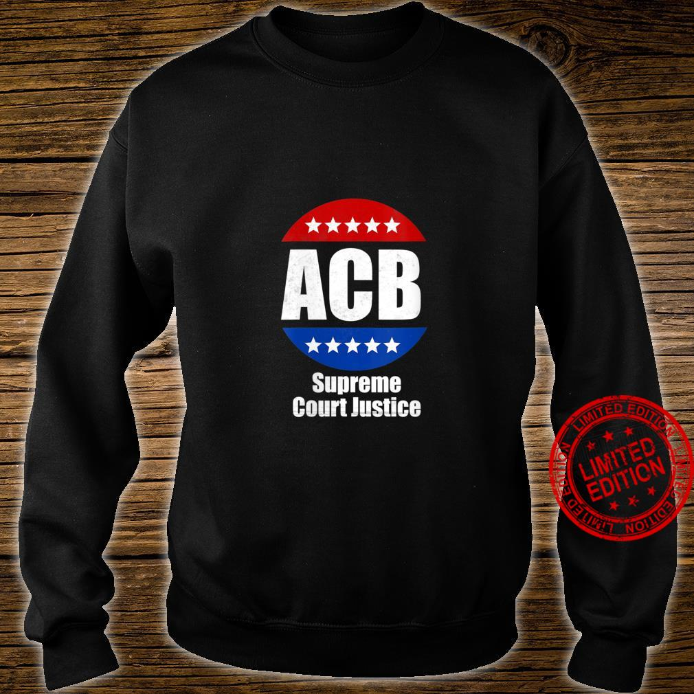 Womens Amy Coney Barrett for U.S Supreme Court Justice 2020 Shirt sweater