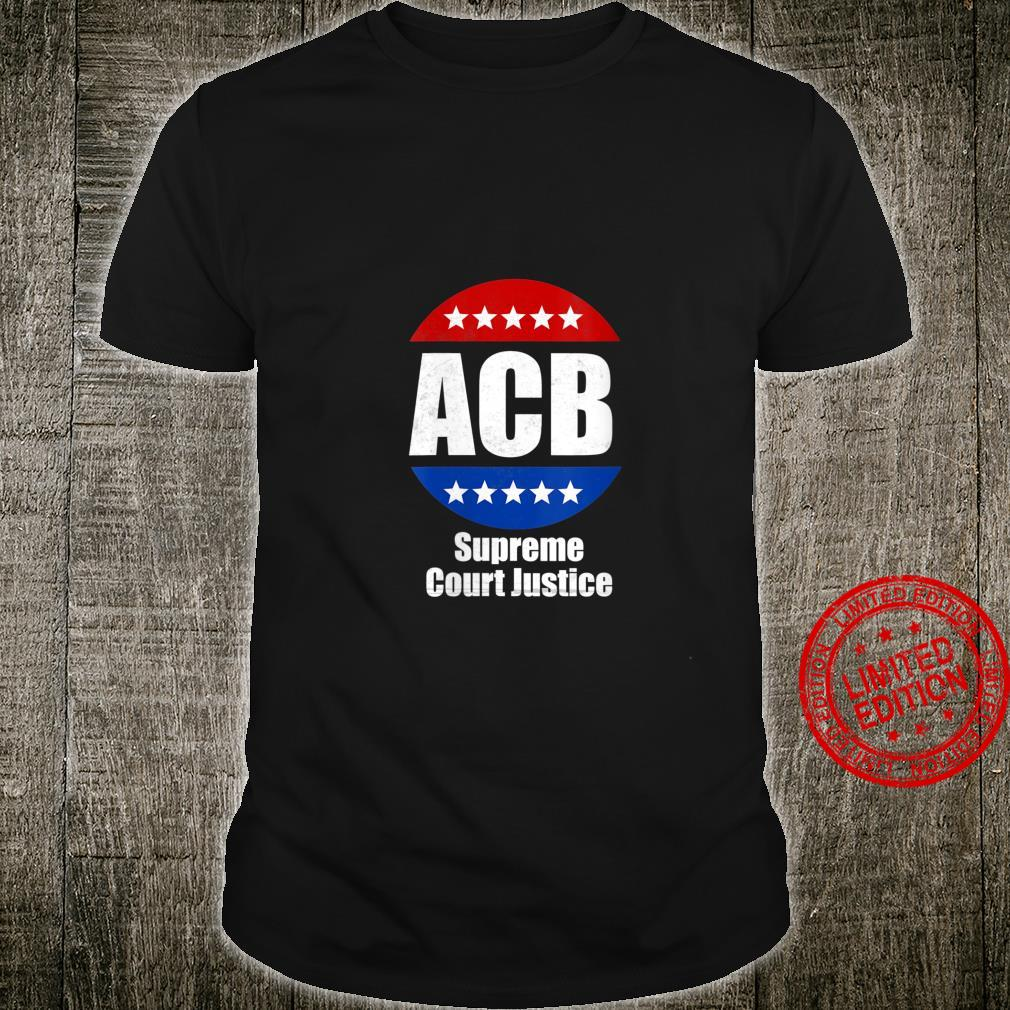 Womens Amy Coney Barrett for U.S Supreme Court Justice 2020 Shirt