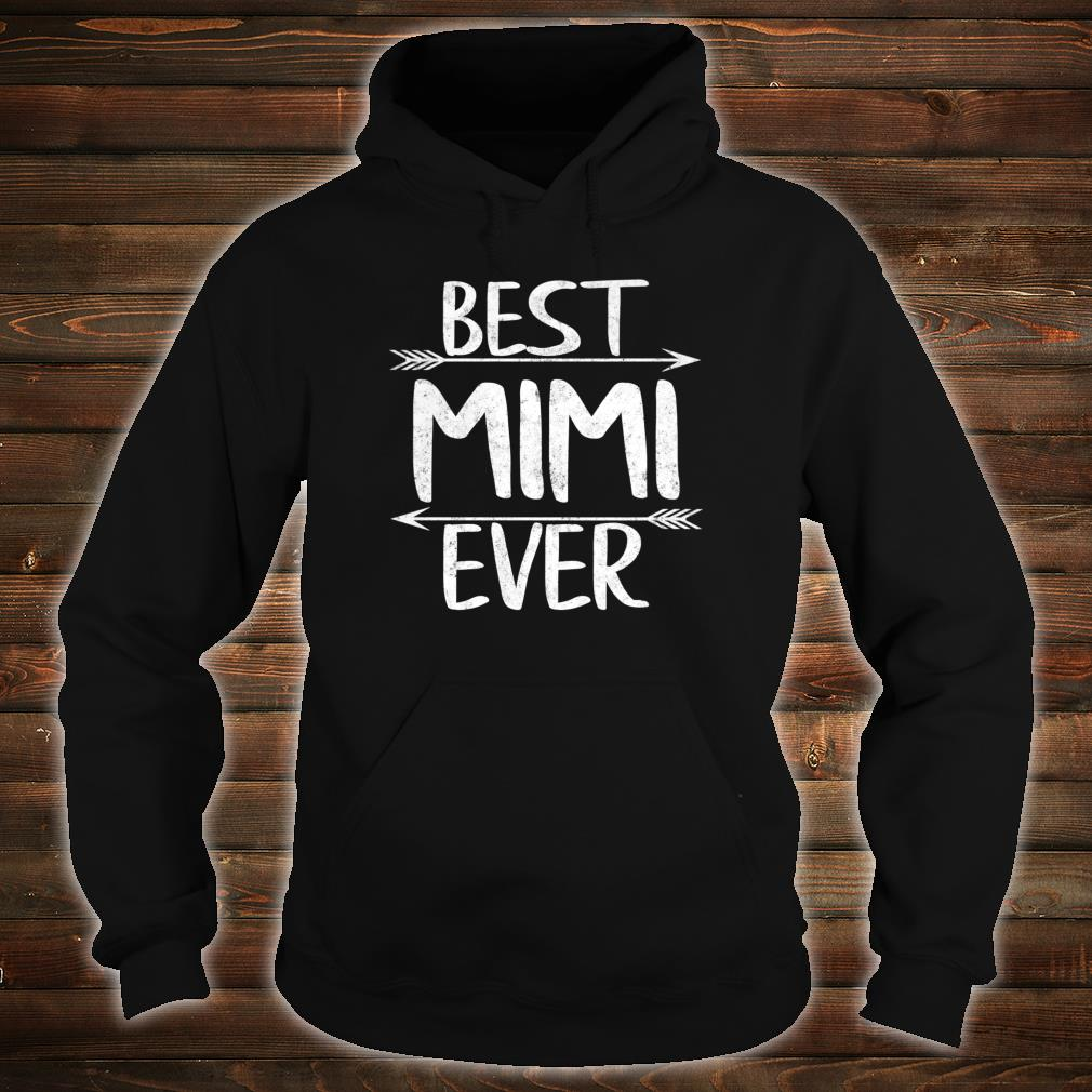 Womens Cute Mother's Day Mother Best Mimi Ever Shirt hoodie