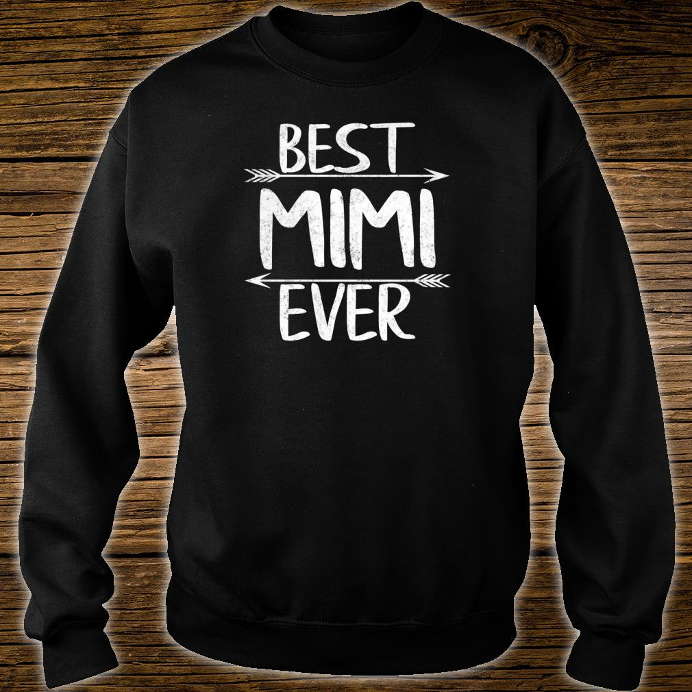 Womens Cute Mother's Day Mother Best Mimi Ever Shirt sweater
