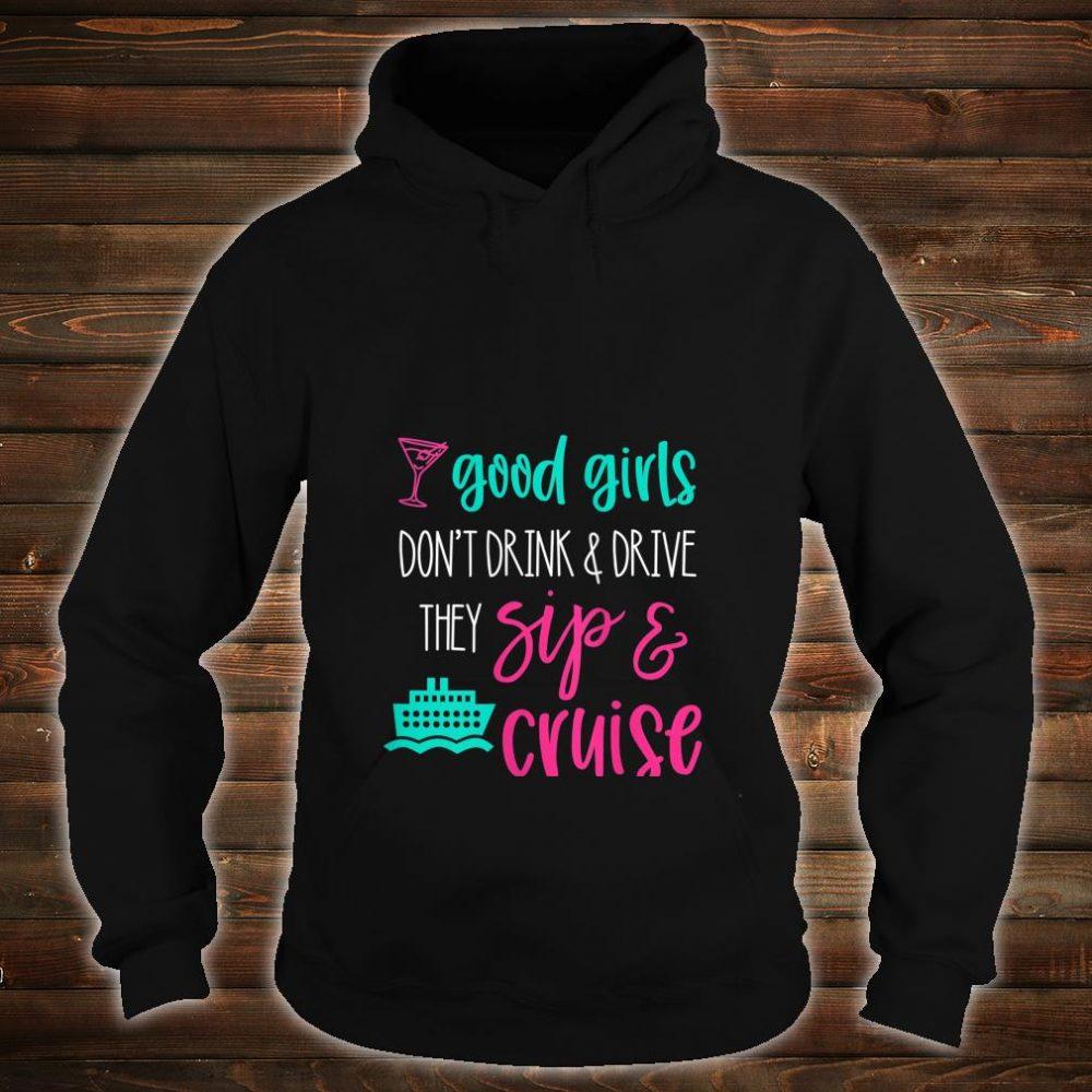 Womens Girls Trip Cruise Drink Sip Travel Vacation Matching Shirt hoodie