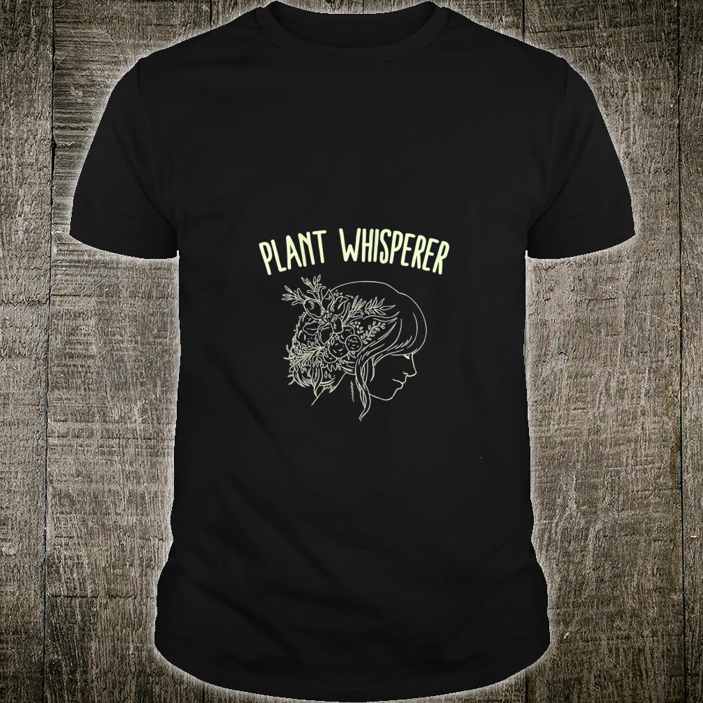 Womens Plant Whisperer Gardening Mom Flower Garden Gardener Shirt