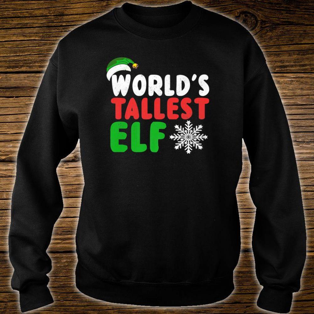 World's Tallest Elf Shirt sweater