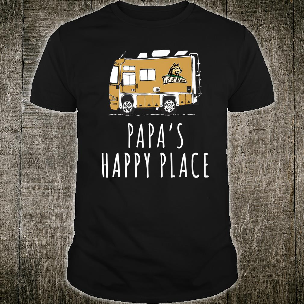 Wright State Raiders Camping Papa's Happy Place Team Shirt