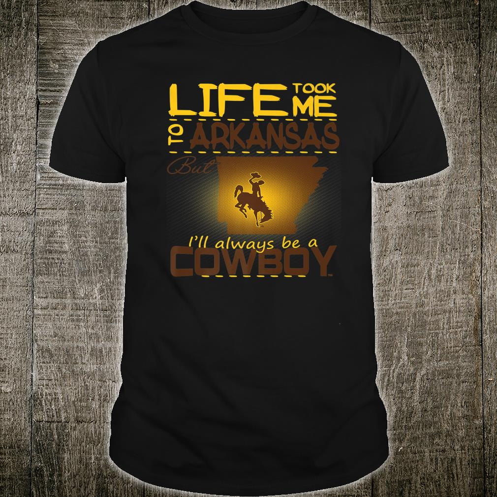 Wyoming Cowboys Life Took Me To College Tailgating Game day Shirt