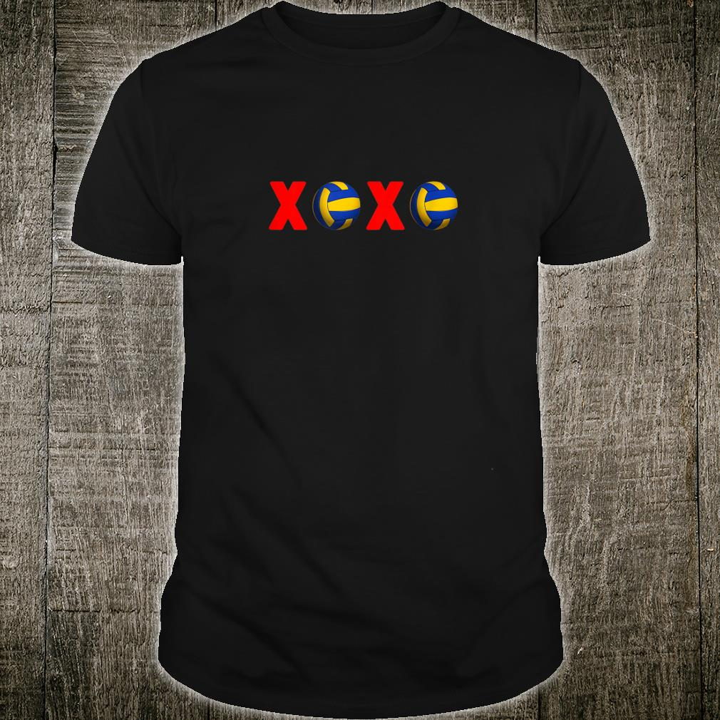 XoXo Love Volleyball for Volleyball Fans Shirt