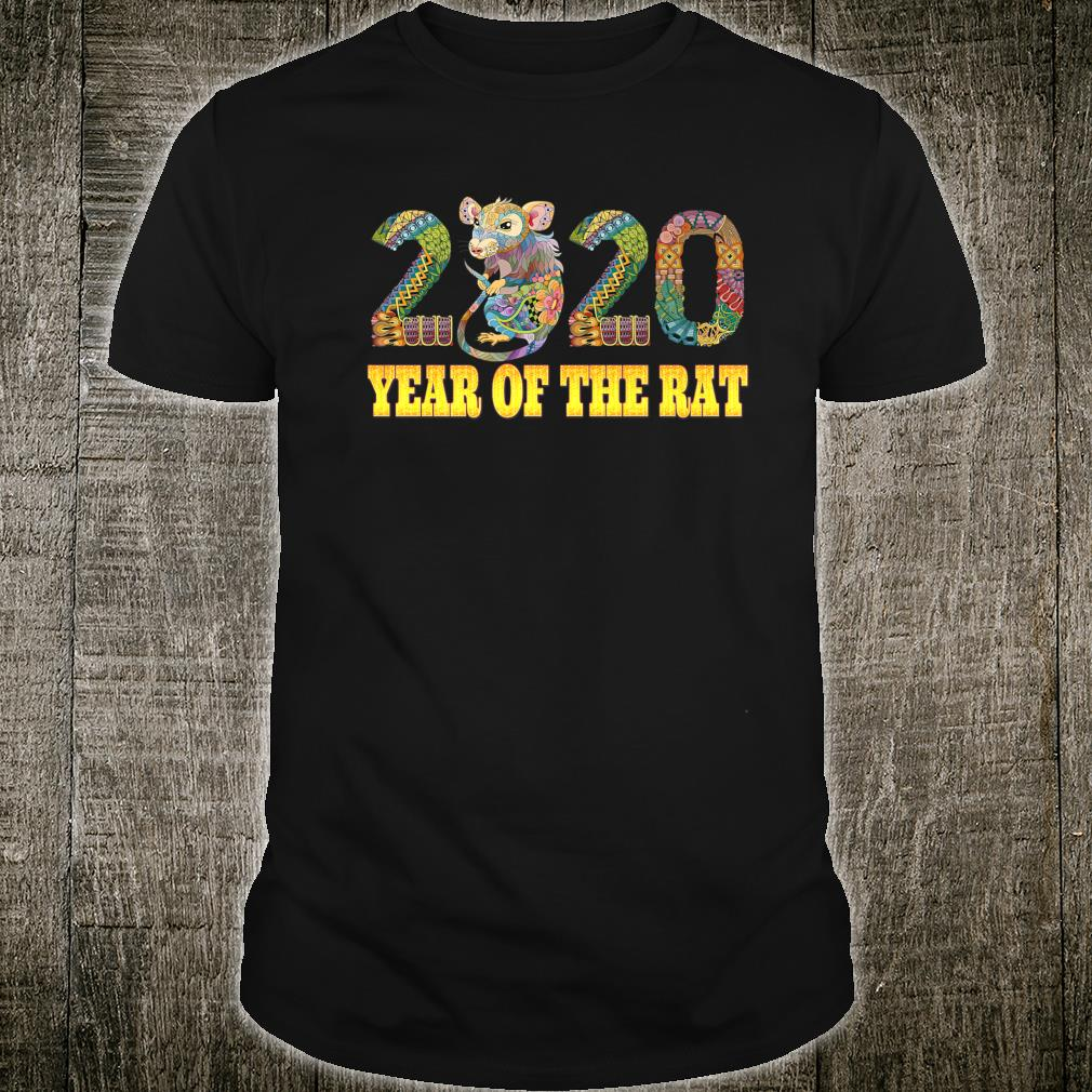 Year Of The Rat 2020 Chinese New Year Cute Shirt
