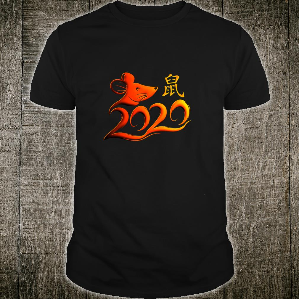Year Of The Rat 2020 New Year v3 Shirt