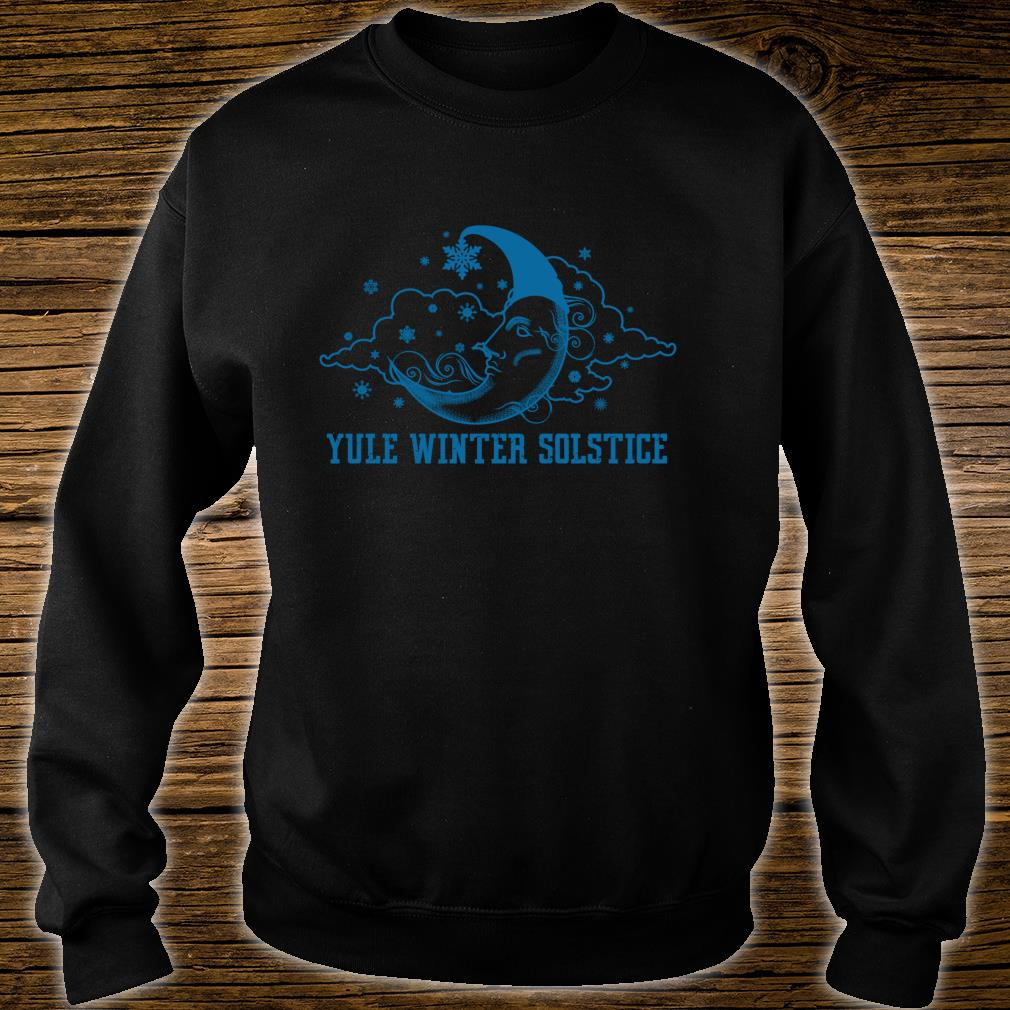 Yule Winter Solstice Sun Moon Celestial Pagan Sky Ritual Shirt sweater